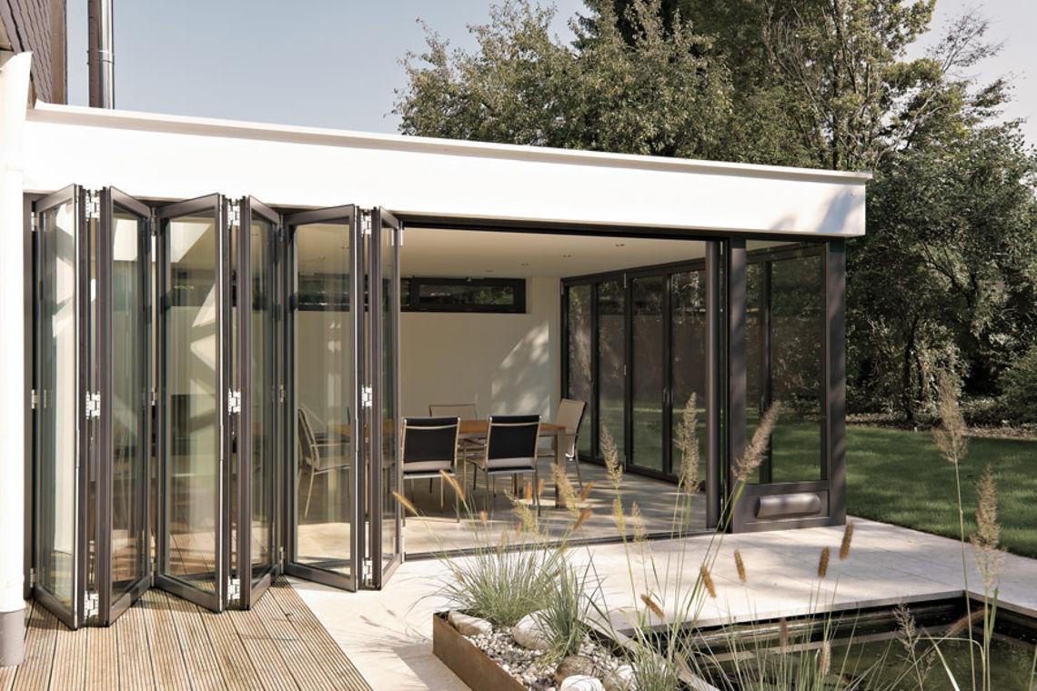 glas faltwand winterg rten von ihrem experten in maulburg. Black Bedroom Furniture Sets. Home Design Ideas